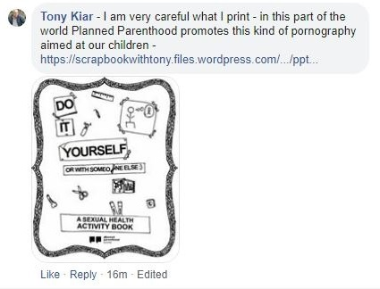 be careful what you print reply
